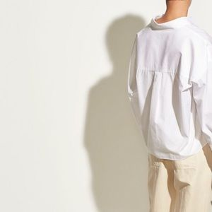 Vince Tops - VINCE Boxy Cotton Top In optic White